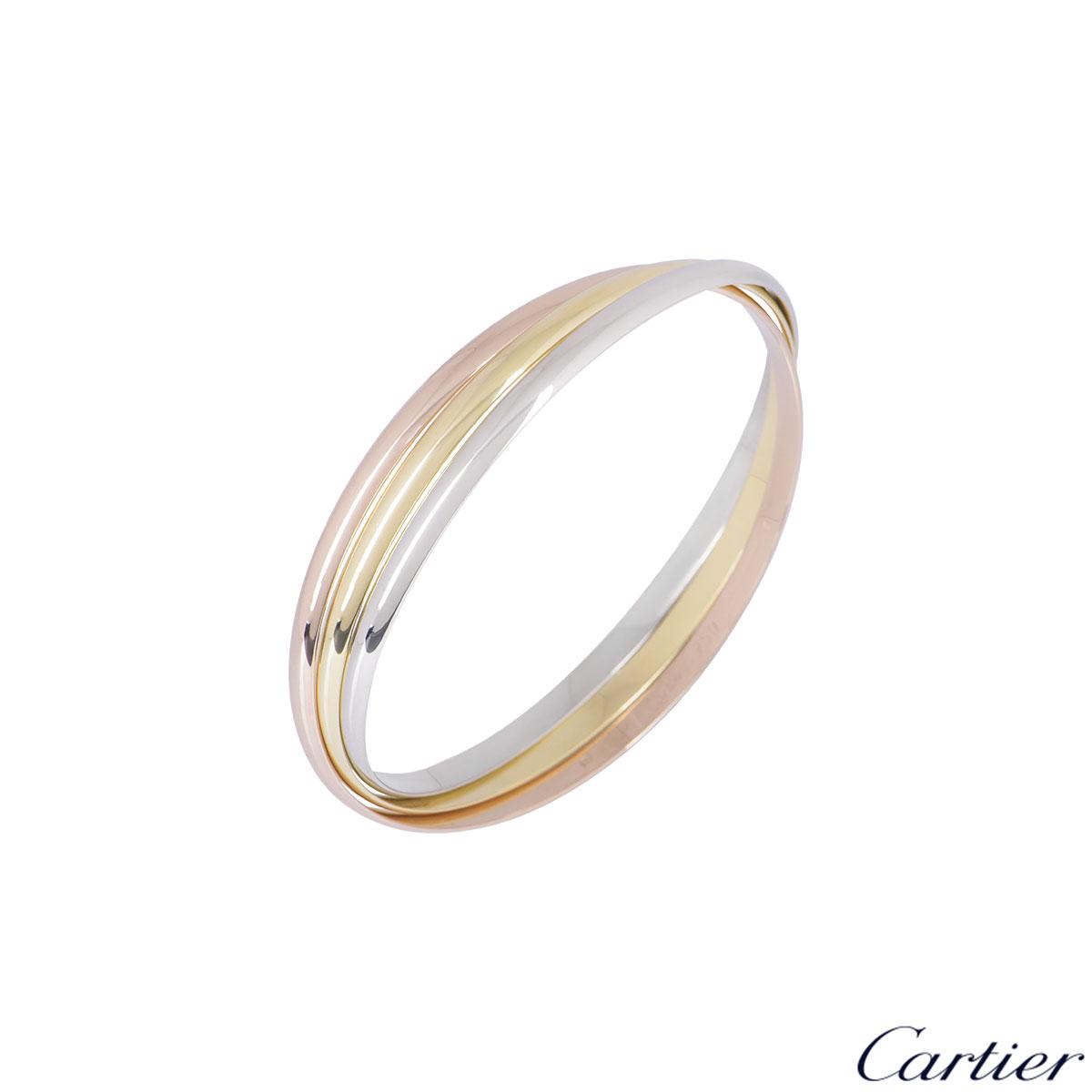 Cartier Tri-Colour Trinity De Cartier Bracelet B6050218